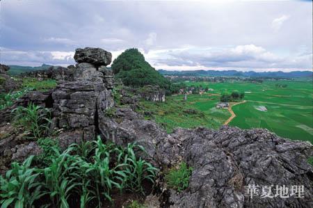 石漠化困扰贵州(二) - 华夏地理 - 华夏地理的博客