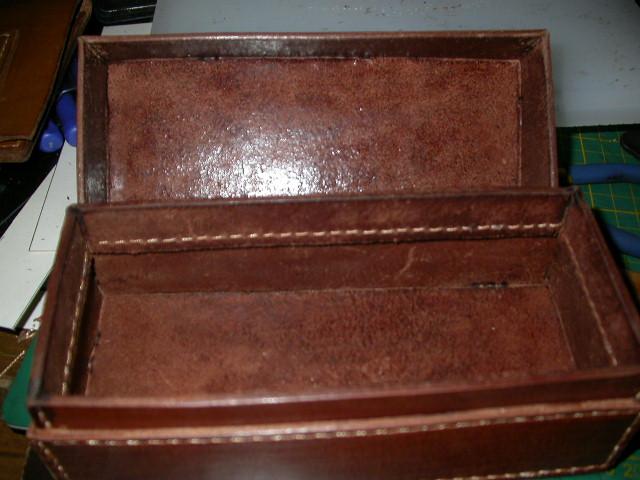 皮盒子的制作过程(90度缝合具体操作)-----骆驼提供 - 玩皮坊ANDY1015 - wan_pi_fang 的博客