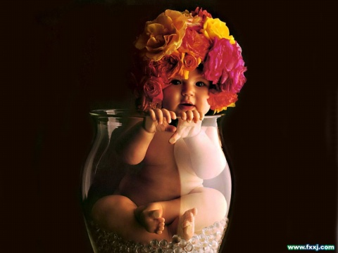 如婴儿般纯洁   - 暗香盈袖 - 颜如玉