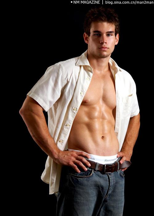 美国大学生帅哥Chad性感诱人的魅力 - 104286596 - 左岸男模坊