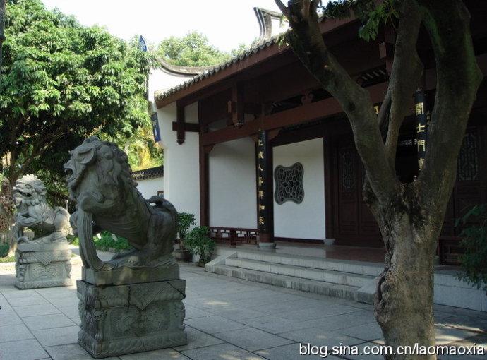 福州西湖公园开化寺 - 老猫侠 - 老猫侠的博客