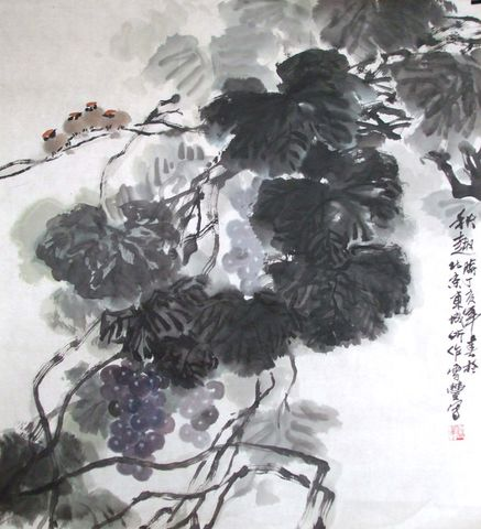 引用 雪丰国画近作(图) - 一片蓝天 - 绘蓝天