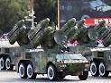 防空导弹方队通过天安门接受检阅