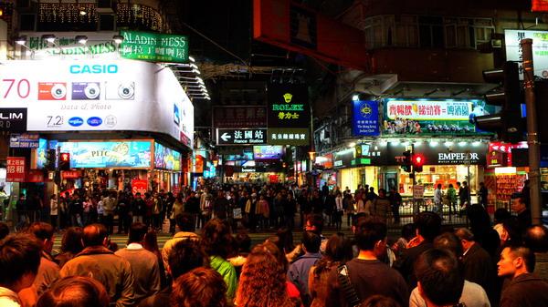 [原]香港第三天·铜锣湾的夜晚 - Tarzan - 走过大地