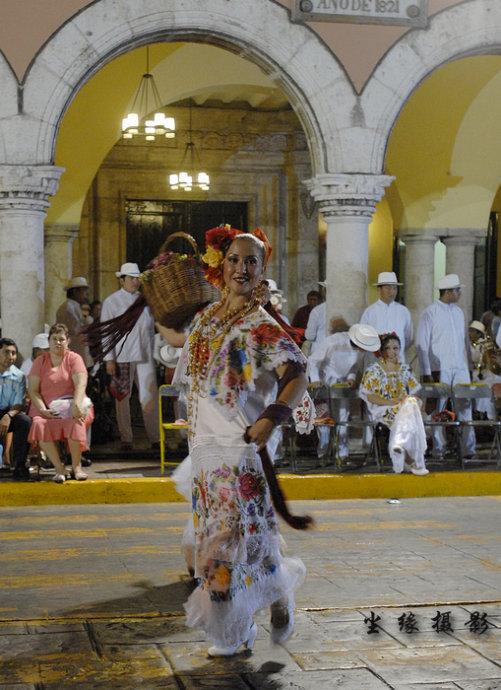 墨西哥原生态舞蹈粉墨登场 - Y哥。尘缘 - 心的漂泊-Y哥37国行