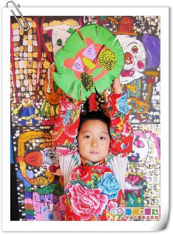 童画童心08秋季启蒙A美术活动10——长发狮爸爸,模样真威风! - 童画-童心儿童美术 - 童画-童心儿童美术