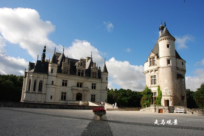 城堡之旅____卢瓦尔河的舍农索 - 西樱 - 走马观景