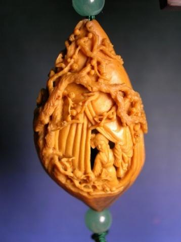 核雕艺术  - 愚人 - 愚人 似愚非愚 愚与形而慧与心