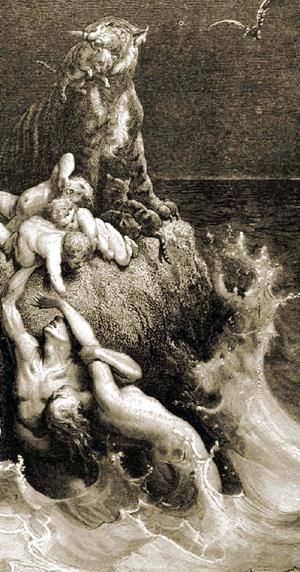 (旧作存档)洪水神话研究之二:洪水大退离及其生命密码 - 朱大可 - 朱大可的博客