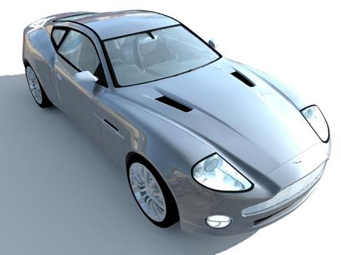 汽车渲染练习 - 易锜 - 心语静听