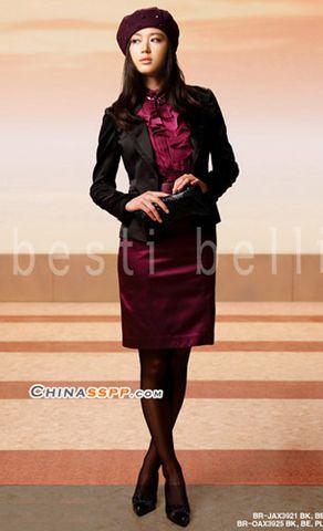 """全智贤小西装+A裙完美换季[10p] - 12种颜色 - ◆◇ ▃""""12种颜色 ◇◆"""