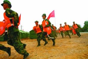 唐家山堰塞湖超泄流水位 军队配火箭筒待命 - ヾ海的→女ル - ヾ海的→女ル的博客