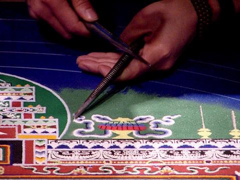 坛城制作全过程(图解) - 堪布扎西多吉 -