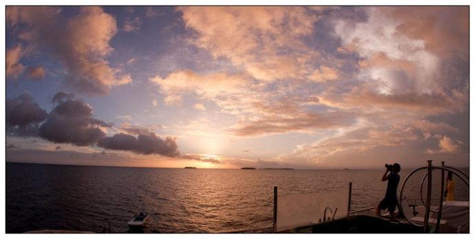 马尔代夫之旅——飘浮在马尔代夫碧海上的豪华酒店 - 牛筋 - 牛筋的博客