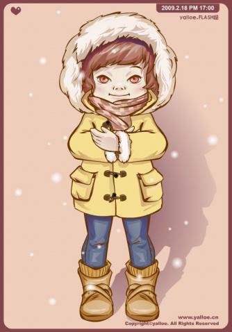 ☆雪天好心情☆麦咪个人画像☆ - Yalloe麦咪和熊熊 - MaimiXong .Yalloe