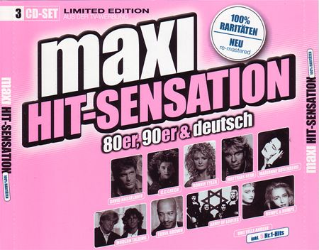VA - Maxi Hit-Sensation - 80er, 90er  Deutsch - 意大利铁匠 - 分享劲爽节奏--XINBO21