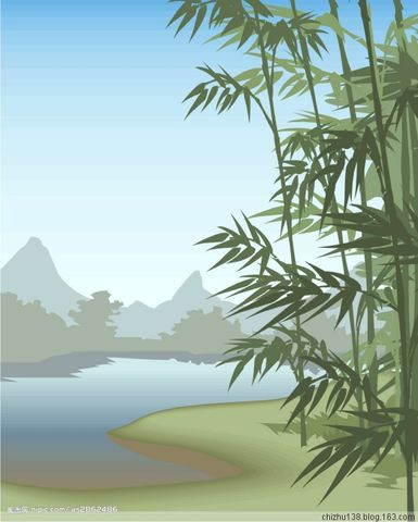 105 【七律】 溪竹寄怀 - 赤竹山人 - 赤竹山人