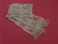 披肩+围巾 - 红色郁金香 - 我的博客