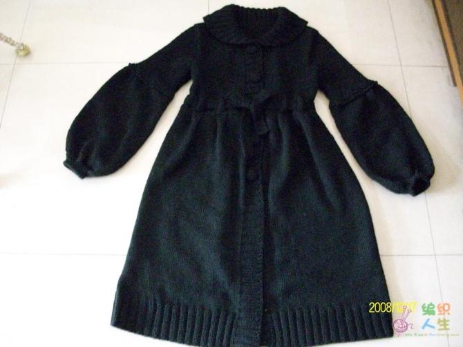 长大衣有编织过程 - 梅兰竹菊 - 梅兰竹菊的博客