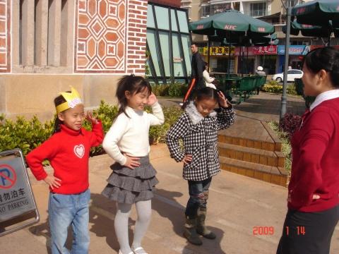 袋鼠的生日聚会 - ruoling2001 - 家有读书女--袋鼠