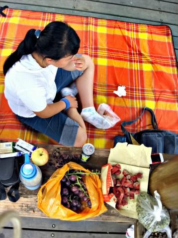 野餐 - 张老师 - 播种善良,常怀感恩,亲近自然,快乐平和。