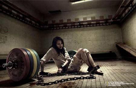 跨国公司捏造中国虐囚广告