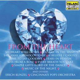 【专辑】From The Heart 心曲 - 爱情主题电影音乐 320K/MP3 - 淡泊 - 淡泊