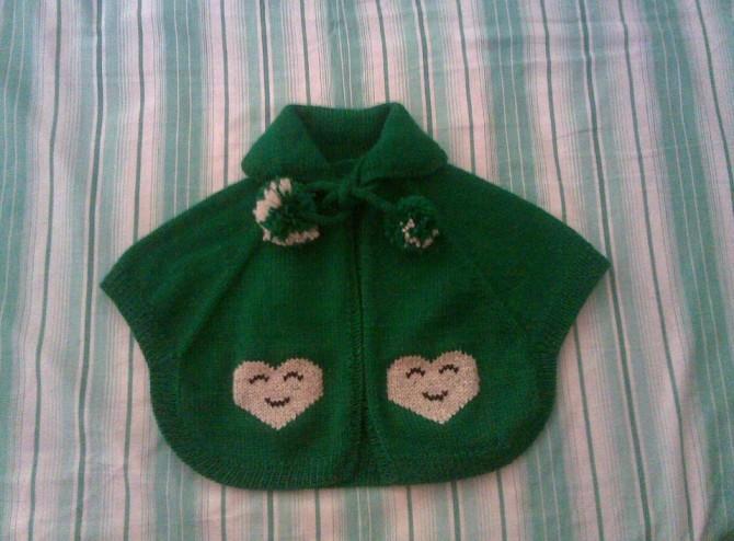绿色小披肩(适合宝宝的) - 胶水的日志 - 网易博客 - jm7846 - jm7846的博客