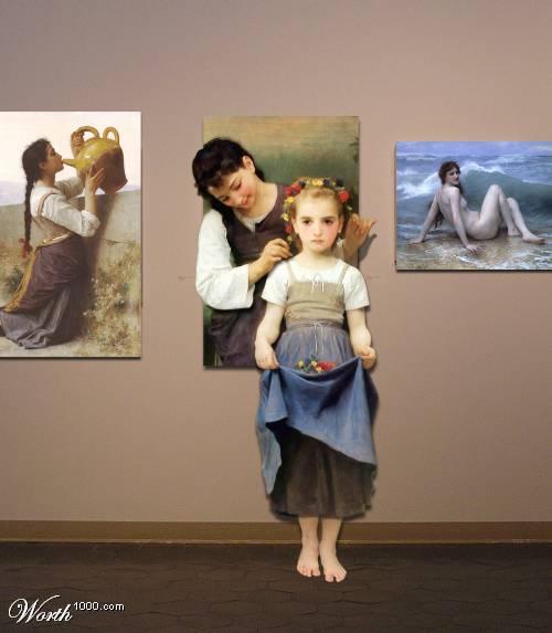 PS的最高境界:世界名画欣赏 - 沙柳胡杨 - shaliuhuyang 的博客