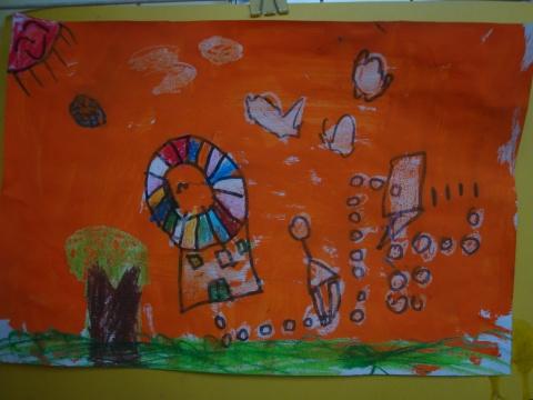 班级宝贝油水分离画作品 - 妙妙屋 - 妙妙屋博客