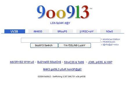 Google 也恶搞 - 令冲冲 - 飞越梦想