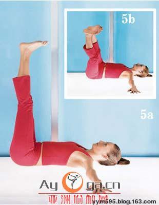 7个瑜伽姿势 让你从肩瘦到脚踝 - 沫儿 - 沫兒の寶貝老窩
