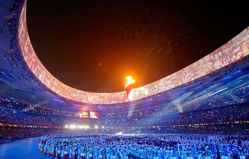北京奥运会——圣火不熄 - 玉竹佳人 - 玉竹佳人的博客