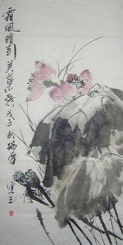 【网友互动】 给 文友瑞雪国画配诗  - 郭天成文学之旅 - 郭天成文学之旅