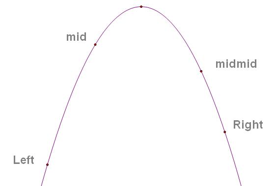 三分法——求解凸性函数的极值问题——czyuan原创 - 东月之神 - 东月之神