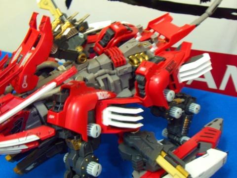 HMM:RZ-028 Blade Liger AB Leon Ver. With Yoko - 速水鉄 - 速水鉄の工作室