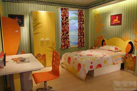 色彩缤纷儿童节 52款儿童房样板间大盘点(组图 - 巴蜀国 - 物质、精神和灵魂