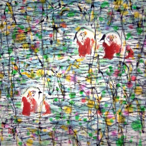 画家道白(13) - 苏文 - 中国当代美术家——路中汉