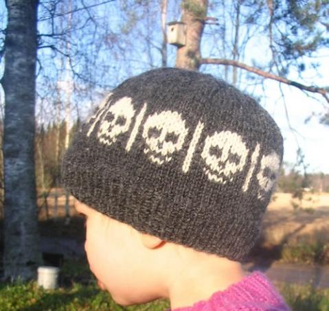 计划四……儿子的骷髅帽(千万不能忘记) - 猫咪窝o(∩_∩)o - 猫咪窝o(∩_∩)o...