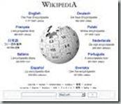 维基百科首页-语言选择