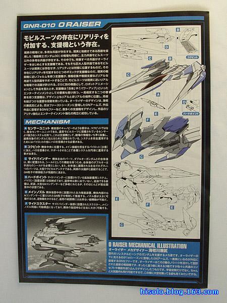 【模型】GNR-010 Oraiser 1/100 入手 - SOLO - Solos Space