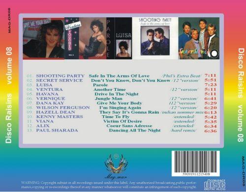 VA-Disco Rare Raisins vol.01-13 - 意大利铁匠 - 分享劲爽节奏--XINBO21