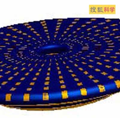 此新式飞碟表面排满了电极-美国开发新式飞碟 靠等离子体飞行 图