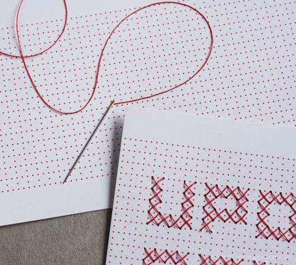 手工缝制的明信片 - 何泛泛 - 何泛泛|IT独唱团