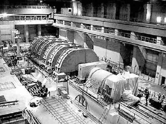 伊朗布什尔核反应堆内部(资料照片)