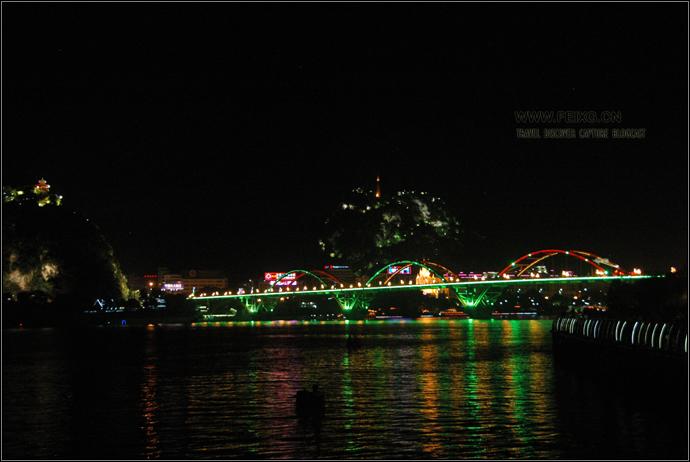 090618 桂乡采风 (一) 柳州:洪灾来临前宁静的柳江之夜 - 天外飞熊 - 天外飞熊