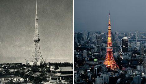 日本东京——上世纪60年代和2010年