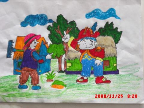 小學生的繪畫作品 - hqr961的日志