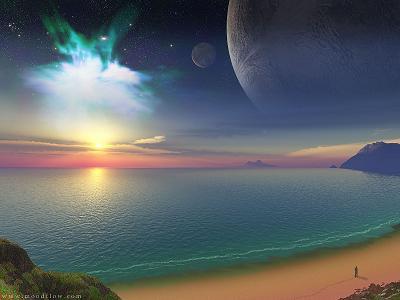 喜欢仰望天空的孩子都是寂寞的