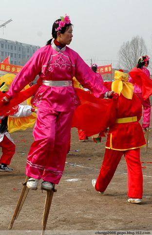 正月十五闹秧歌 - 济南· 冬日暖阳 - 欢迎光临济南·冬日暖阳的原创屋